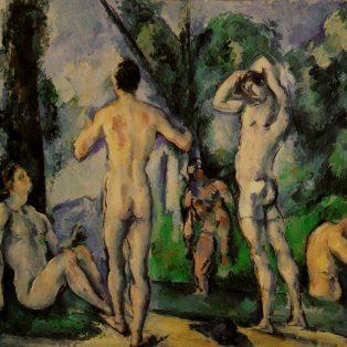 Baigneurs en plein air - 1890-1891, huile sur toile, 54 x 65 cm - Saint-Petersbourg, Musée de l'Ermitage