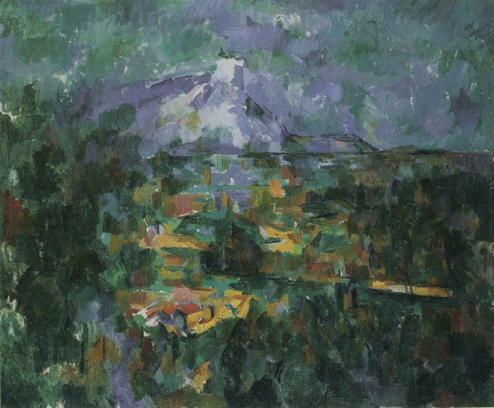 the sainte-victoire mountain